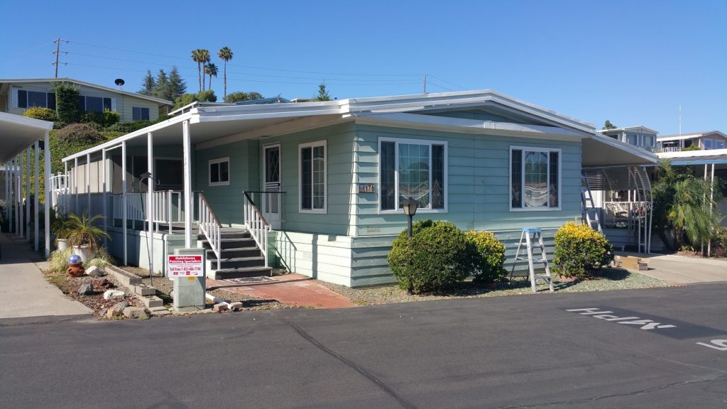 MPS Before Photo 2 - mobile home